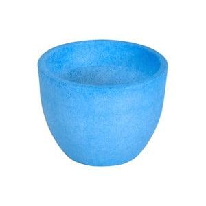Fluorescenční váza Orione 40 cm, modrá