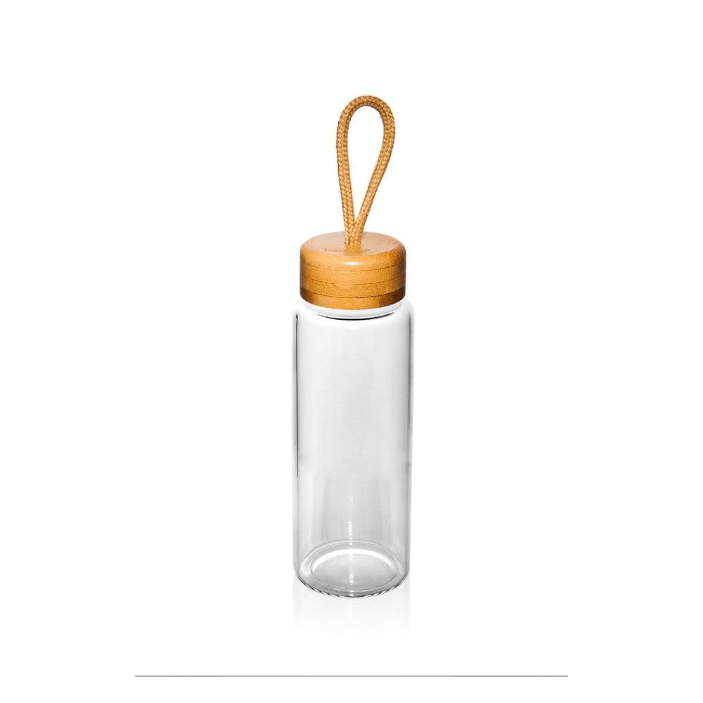 Skleněná lahev na vodu Bambum Diem, 325 ml