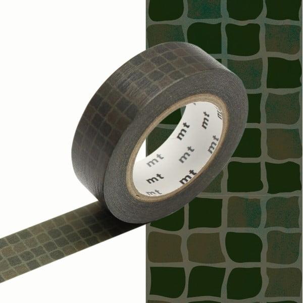 Bandă decorativă Washi MT Masking Tape Laurence, rolă 10 m
