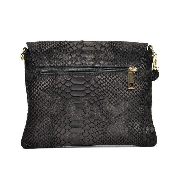 Černá kožená kabelka Sofia Cardoni Mila