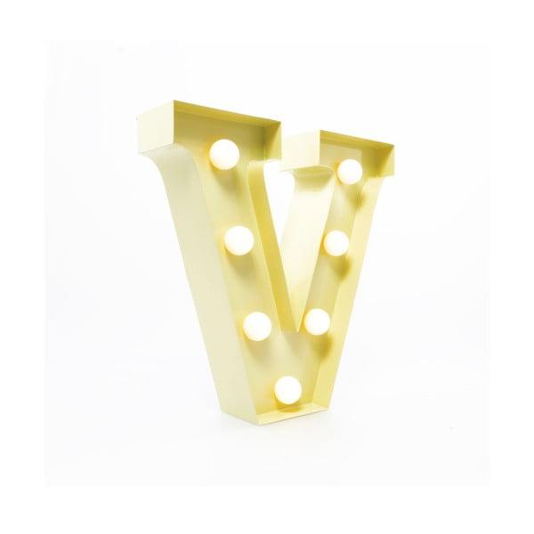 Dekorativní světlo Carnival V, vanilkové