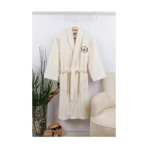 Unisex župan v krémově barvě Beverly Hills Polo Club, velikost L/XL