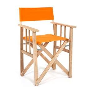 Skládací židle Director, oranžová