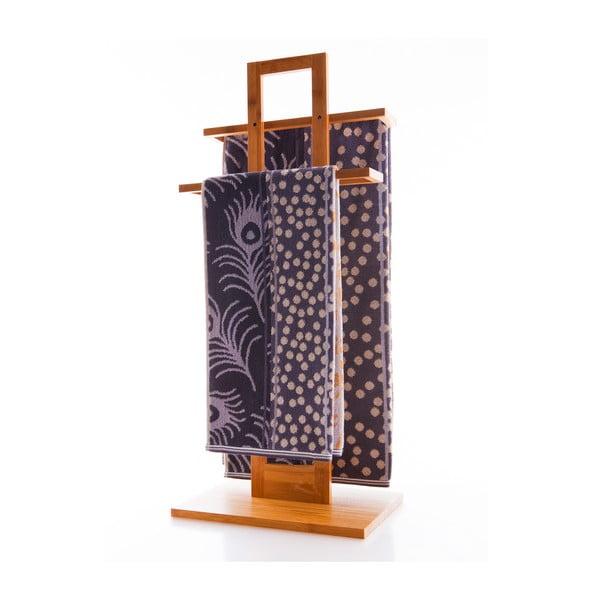 Ručník Pavo Grey, 70x140 cm