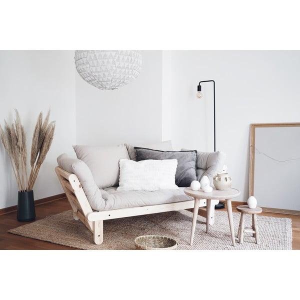 Canapea extensibilă Karup Design Beat White/Grey