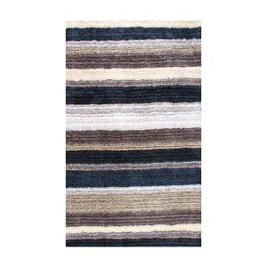 Covor țesut manual nuLOOM Stripes Blumulti, 122 x 183 cm