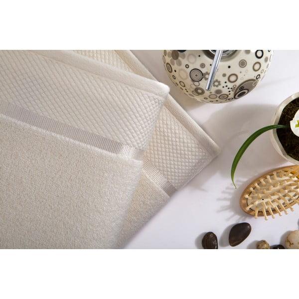 Sada 2 ručníků Delta Cream, 50x100 cm
