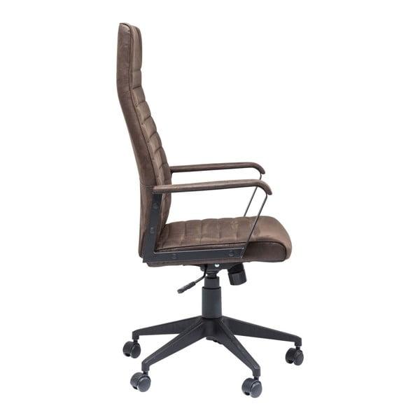 Hnědá kancelářská židle Kare Design High Labora