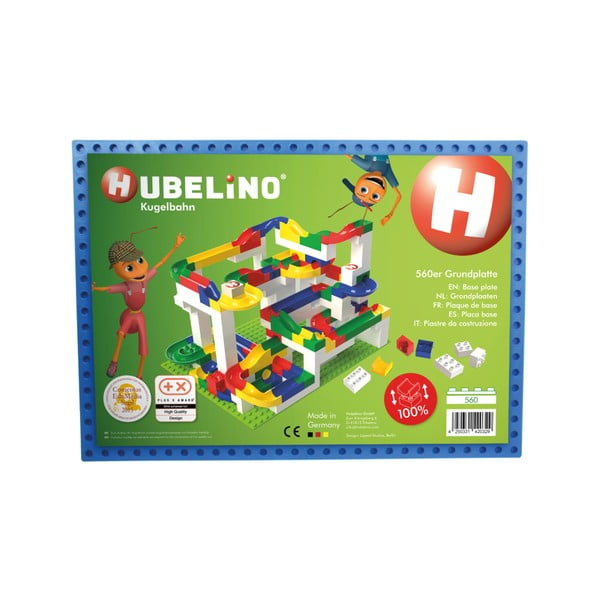 Placă de bază pentru jocul de construcție Hubelino, albastru
