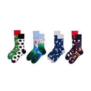 Sada 4 párů ponožek v dárkovém balení Many Mornings Adventure, vel. 43–46