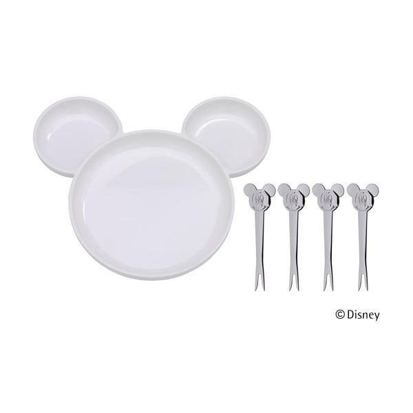 Set masă din 5 piese pentru copii WMF Cromargan® Mickey Mouse