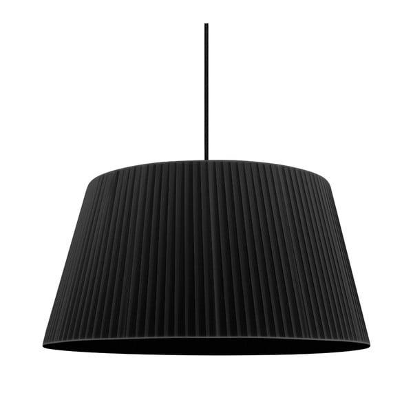 Černé stropní svítidlo Sotto Luce KAMI,Ø45cm
