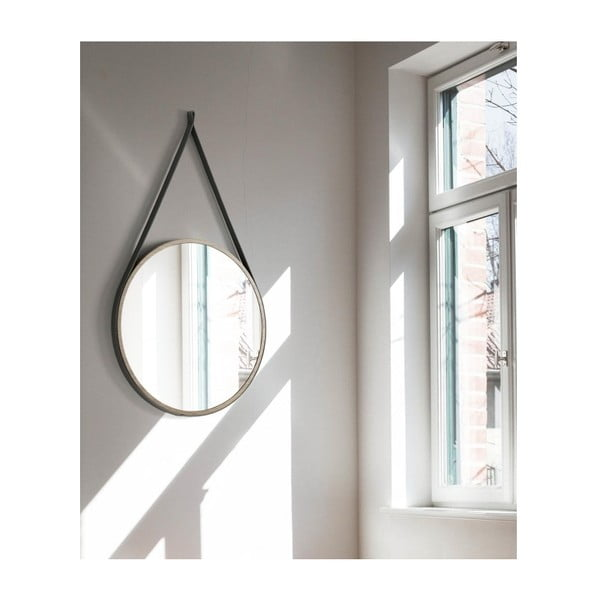 Závěsné zrcadlo Ángel Cerdá Boss, ⌀ 75 cm