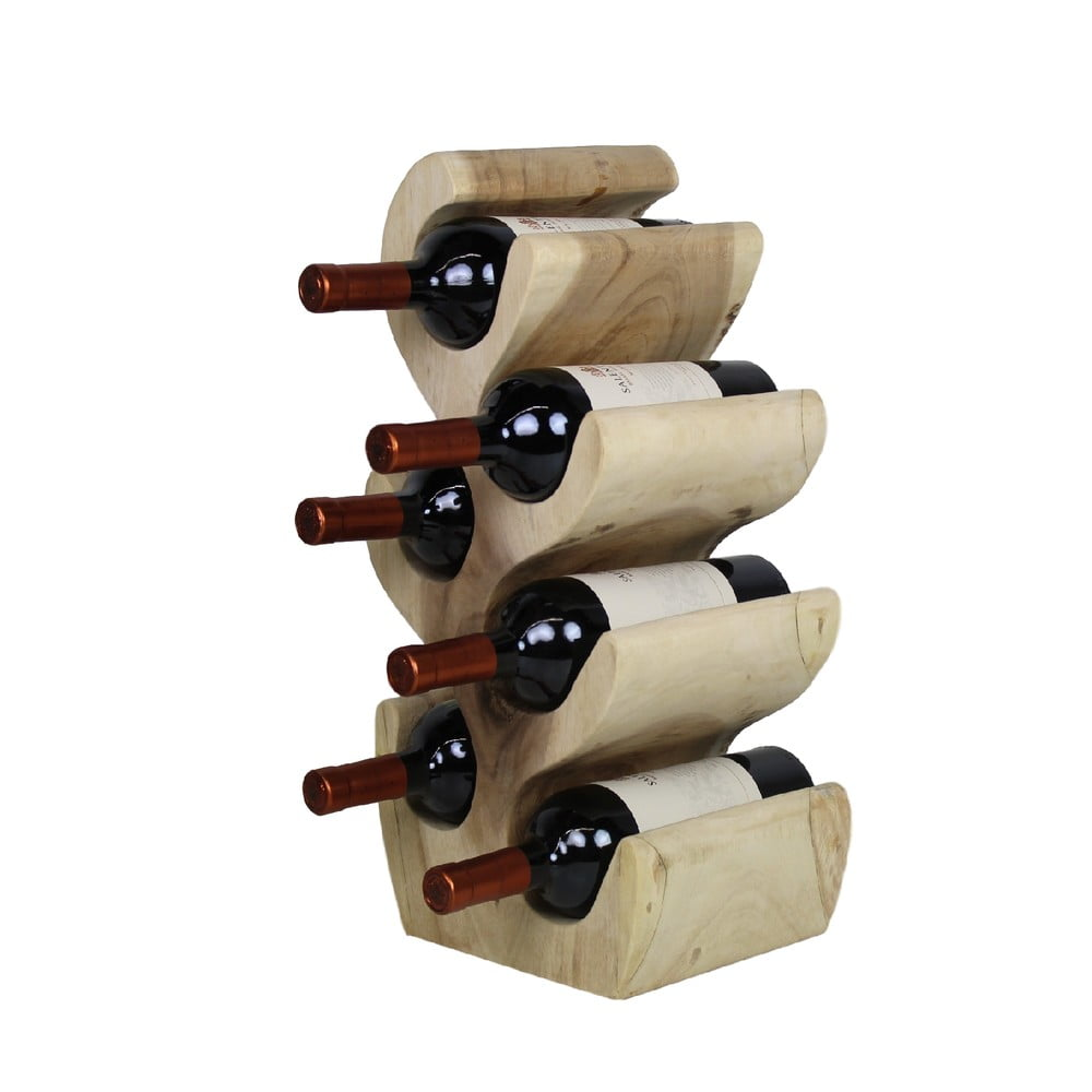Stojan na láhve od vína zedřeva suar HMS collection, výška 51cm