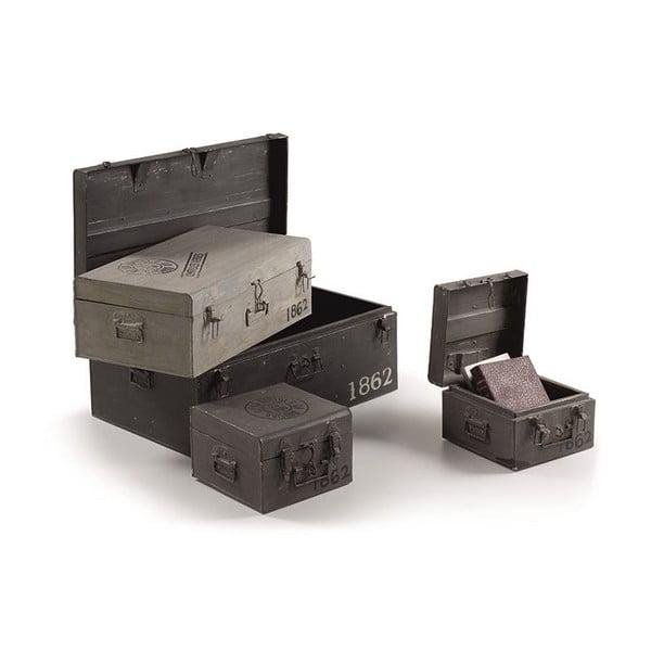 Sada 4 úložných kufrů Notpam