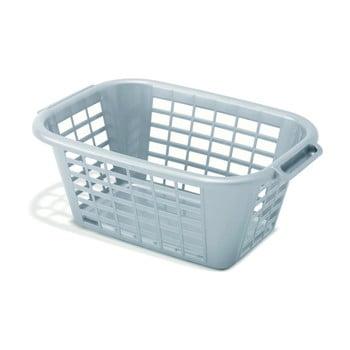 Coș de rufe Addis Rect Laundry Basket, 40 l, gri imagine
