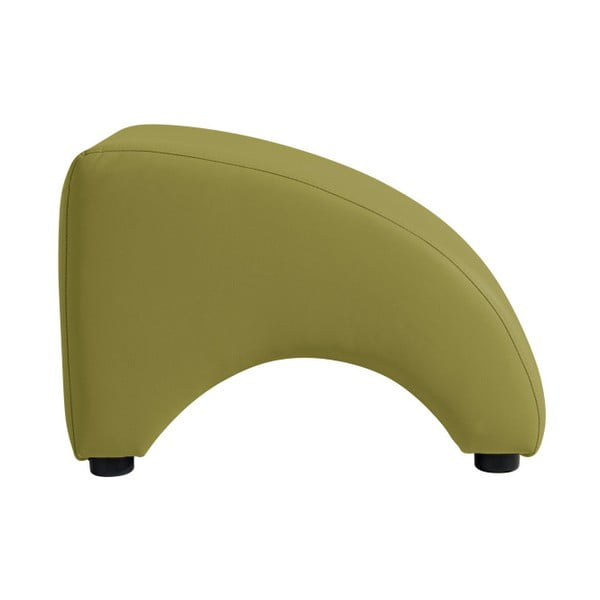 Zelená koženková podnožka Max Winzer Brandford