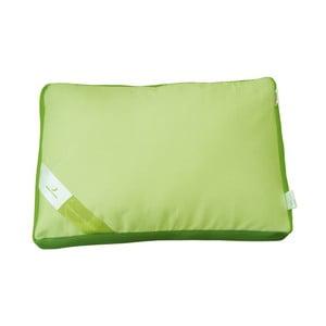 Zelený polštář s paměťovou pěnou Green Future Aero, 50x60cm
