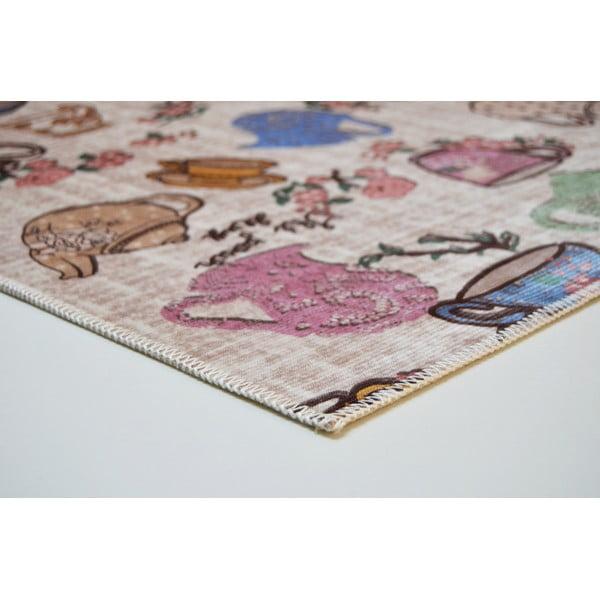 Odolný koberec Vitaus Molly, 50x80cm