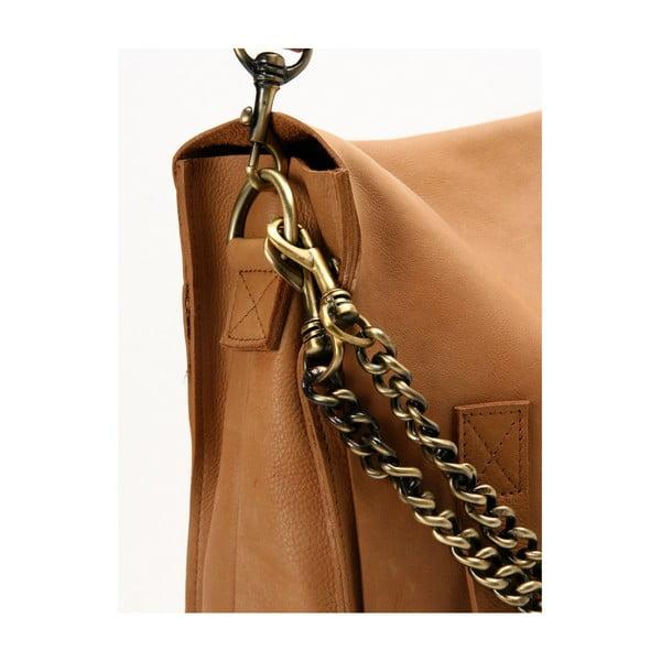 Geantă vintage din piele O My Bag Sleazy Jane, maro