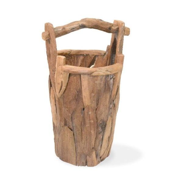 Teakový kbelík s uchem Moycor Erosi Bucket