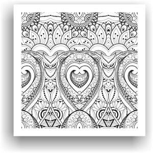 Obraz k vymalování Color It no. 72, 50x50 cm