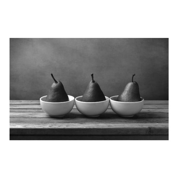 Obraz Black&White Pears,45x70cm