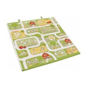 Dětská herní matrace Roba Kids Farm, 120x120cm