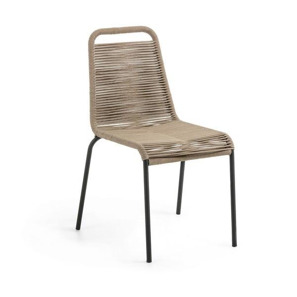 Hnědá židle La Forma Glenville