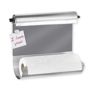 Magnetický držák na utěrku s dávkovačem fólie Wenko
