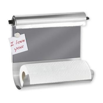 Suport magnetic pentru șervete bucătărie cu dozator de folie Wenko de la Wenko