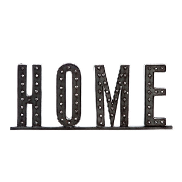 Dekorativní nápis Home, 51 cm