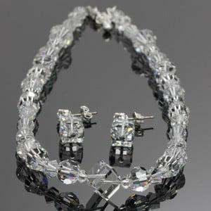Set Swarovski Elements Cubes Crystal
