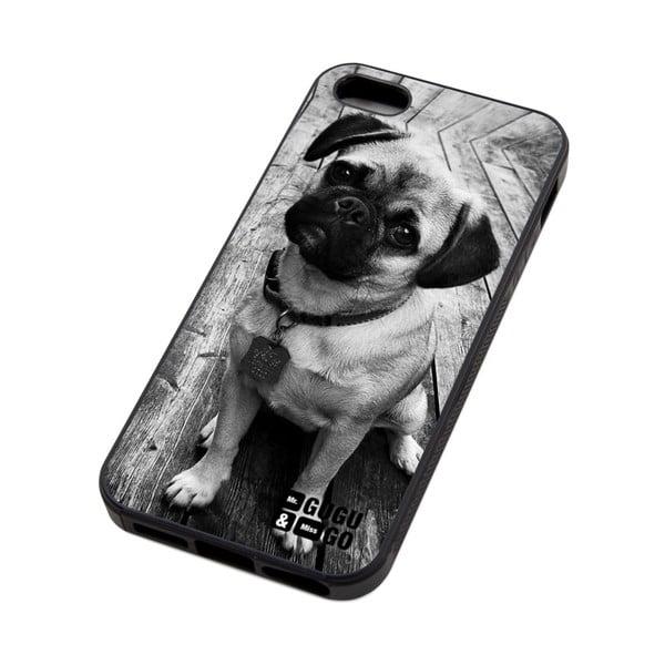 Obal na telefon Pug, iPhone 5