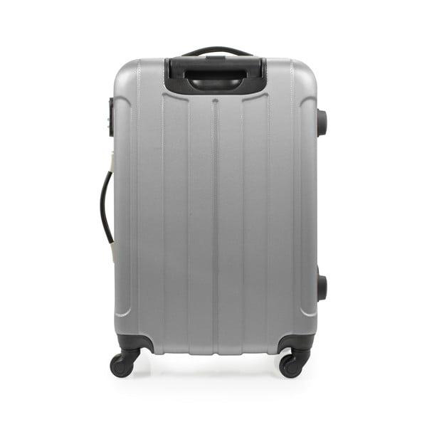 Sada 3 kufrů Brand Developpement Loisa, stříbrná