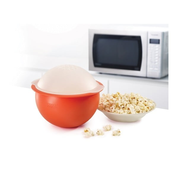 Červená mísa na přípravu popcornu Joseph Joseph M-Cuisine Popcorn Maker