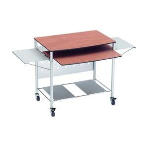 Rozkládací pracovní stůl na kolečkách Valsecchi Mek