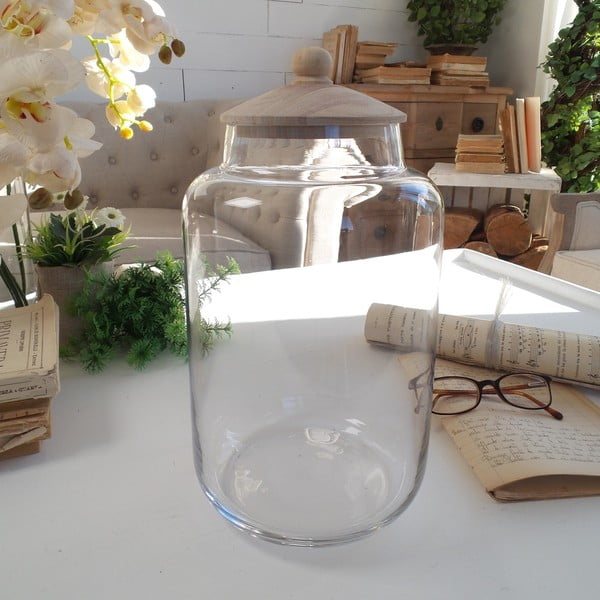 Dóza s víkem Glass Natural Living