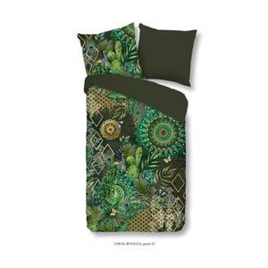 Povlečení na jednolůžko z bavlněného saténu Muller Textiels Botalia, 140 x 200 cm