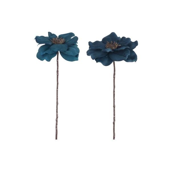 Sada 2 umělých květin Anemone, výška 40 cm