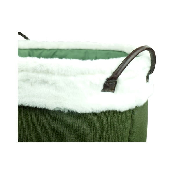 Coș tricotat de depozitare Furniteam Laundry,⌀ 42 cm