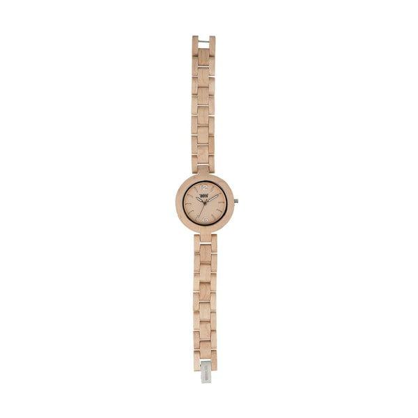 Dřevěné hodinky Mimosa Beige
