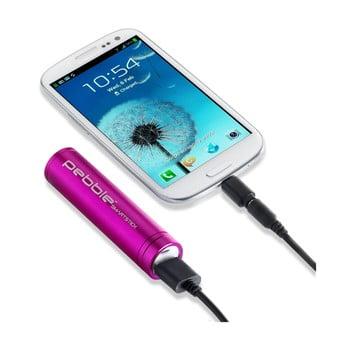 Baterie externă pentru voiaj Pebble Smartstick, roz