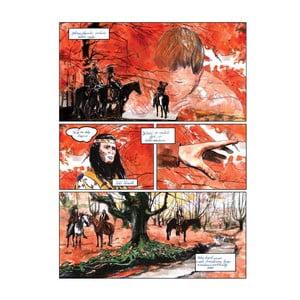 Autorský plakát od Toy Box Jednou objevili Indiáni cestu, 60x45 cm