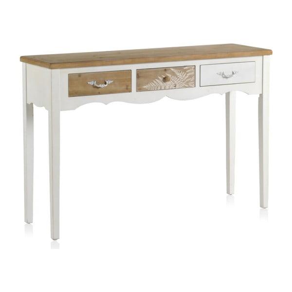 Dřevěný konzolový stolek Geese Natural