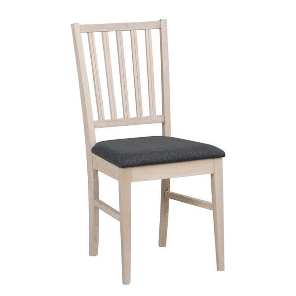 Šedá dubová jídelní židle Rowico Filippa