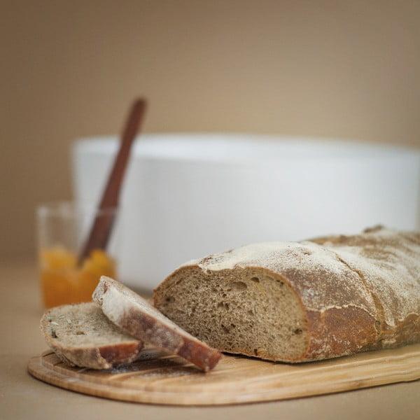 Chlebník Stelton Rig-Tig, bílý
