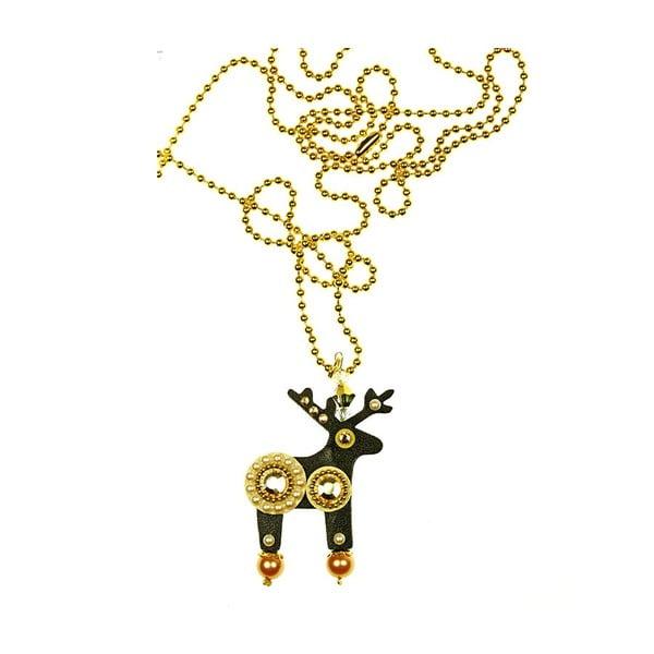 Jelení náhrdelník Gold Madam