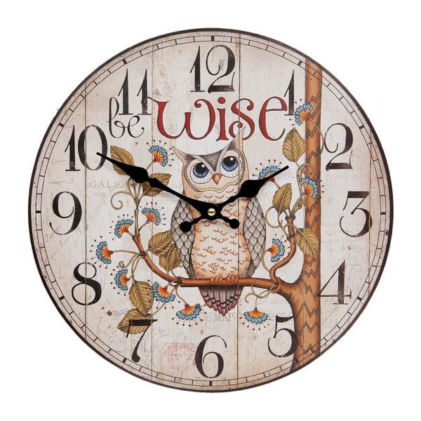Nástěnné hodiny Clayre & Eef Wise