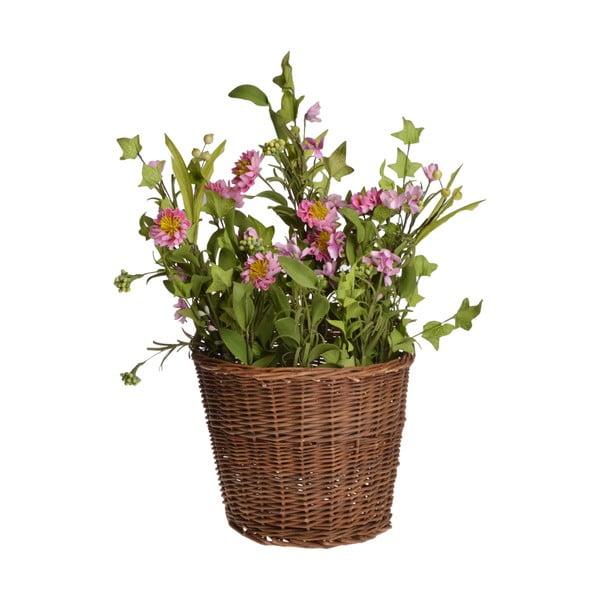 Umělá květina v košíku In Basket